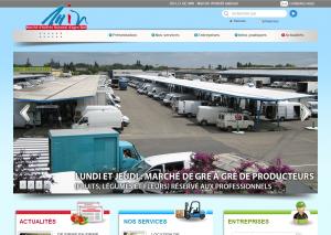 Création du site web sur mesure pour le M.I.N Agen