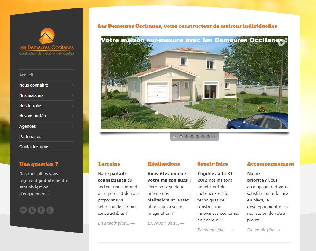 Les demeures occitanes, constructeur de maisons individuelles