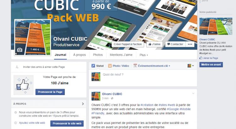 Olvani CUBIC_Création de site web à petit budget